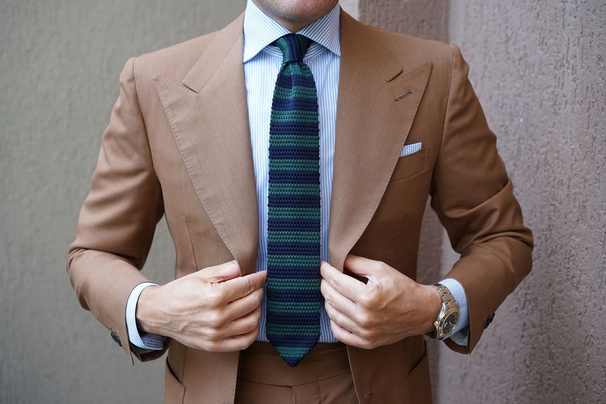 Perseus Knitted Tie