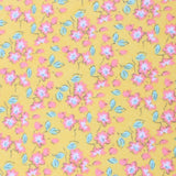 Phi Phi Yellow Floral Pocket Square Fabric