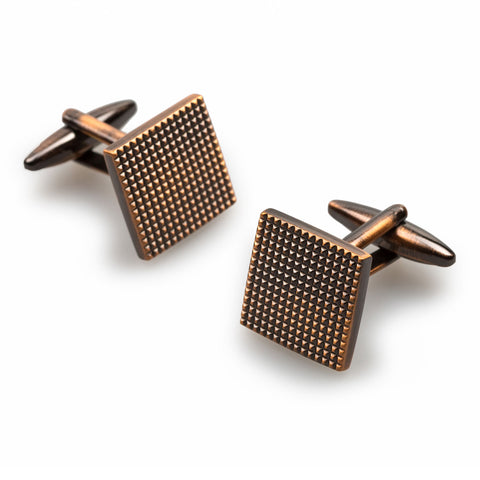 Piccadilly Antique Copper Cufflinks