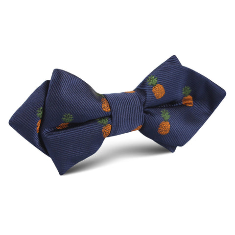 Pineapple Diamond Bow Tie
