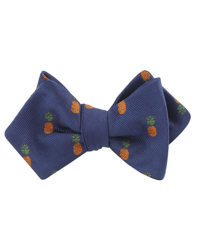 Pineapple Diamond Self Bow Tie
