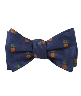 Pineapple Self Bow Tie