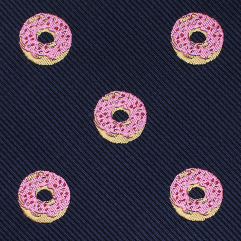 Pink Donuts Pocket Square