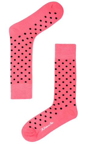 Pink Dot Socks
