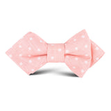 Pink Panther Polkadot Kids Diamond Bow Tie