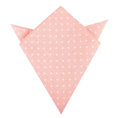 Pink Panther Polkadot Pocket Square