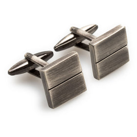 Prince William Antique Silver Cufflinks