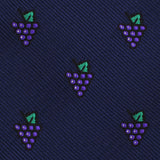 Purple Grapes Kids Bow Tie Fabric