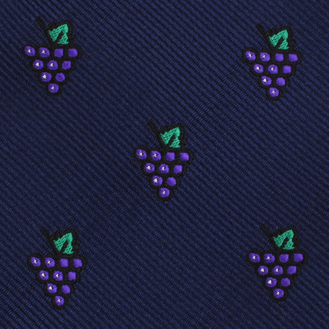 Purple Grapes Pocket Square