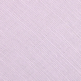 Purple Lilac Lavender Slub Linen Pocket Square