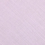 Purple Lilac Lavender Slub Linen Fabric Self Tie Diamond Tip Bow Tie L171