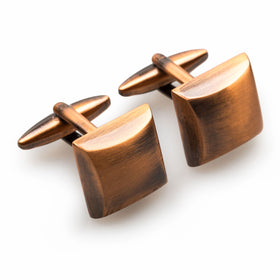 Pyotr Ilyich Antique Copper Cufflinks