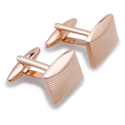 Queen Victoria Rose Gold Cufflinks