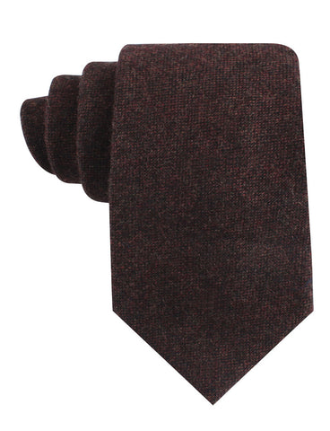 Rambouillet Donegal Brown Wool Tie