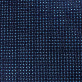 Ray Kroc Blue Pin Dot Pocket Square