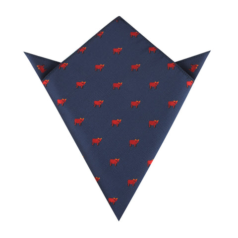 Red Bull Pocket Square