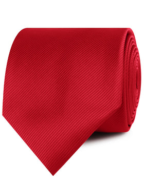Red Cherry Twill Necktie