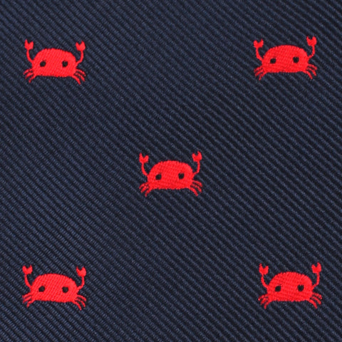 Red Crab Bow Tie