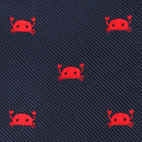 Red Crab Kids Bow Tie