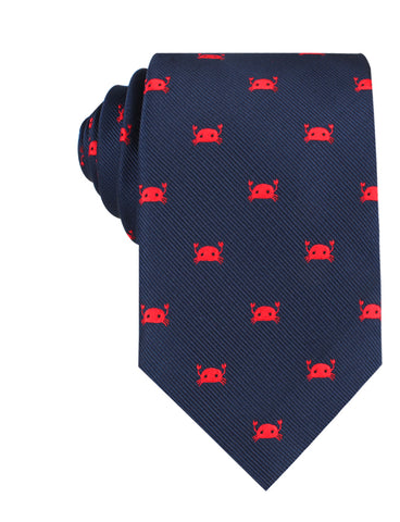 Red Crab Necktie