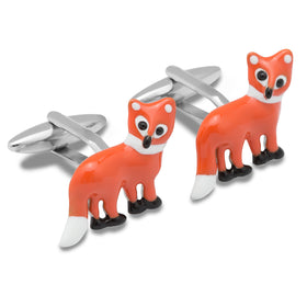 Red Fox Cufflinks