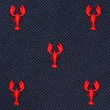 Red Lobster Bow Tie Fabric