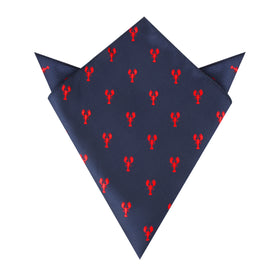 Red Lobster Pocket Square