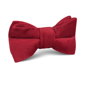 Red Velvet Kids Bow Tie