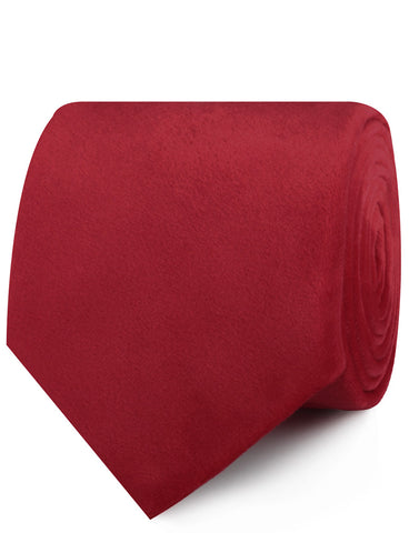 Red Velvet Necktie