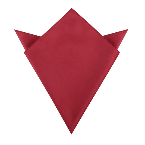 Red Velvet Pocket Square