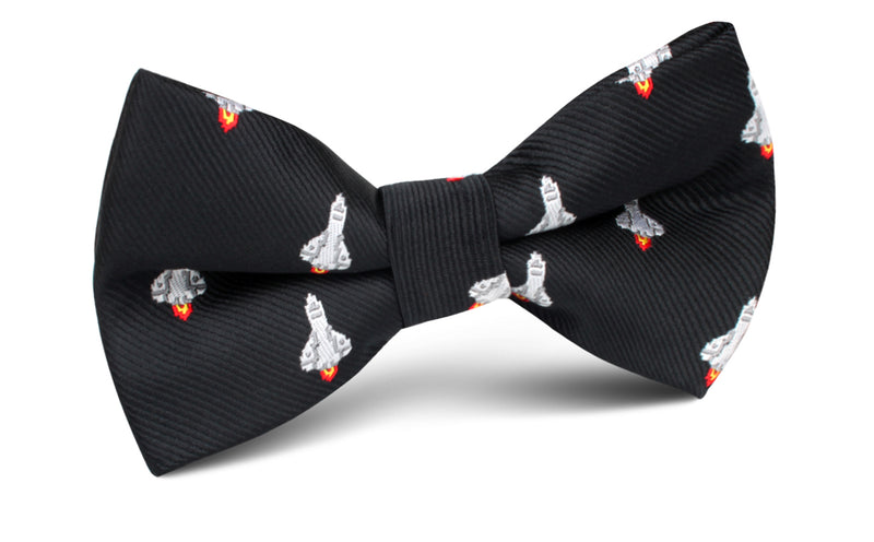 Rocket Ship Space Bow Ties
