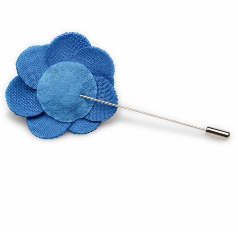Rekindling Blue Lapel Flower