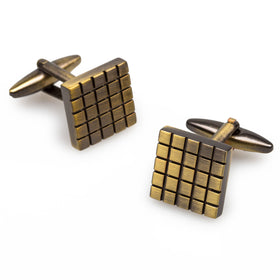 Richard Kiel Antique Brass Cufflinks