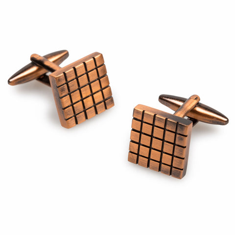 Richard Kiel Antique Copper Cufflinks