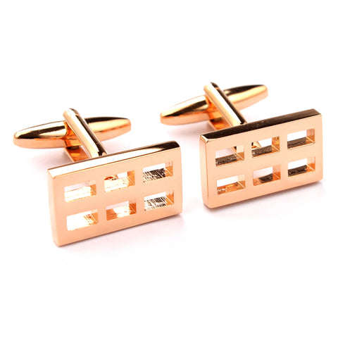 Rose Gold Door Cufflinks