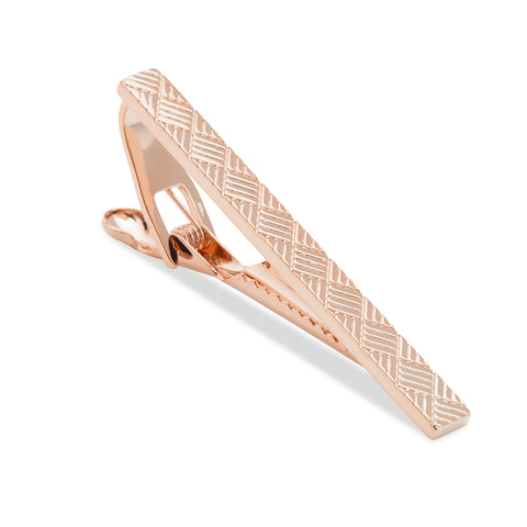 Rose Gold Hitchcock Tie Bar
