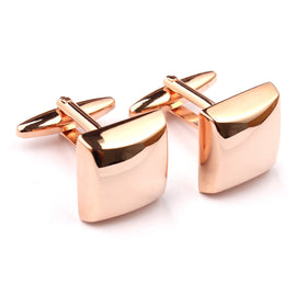 Rose Gold Square Cufflinks
