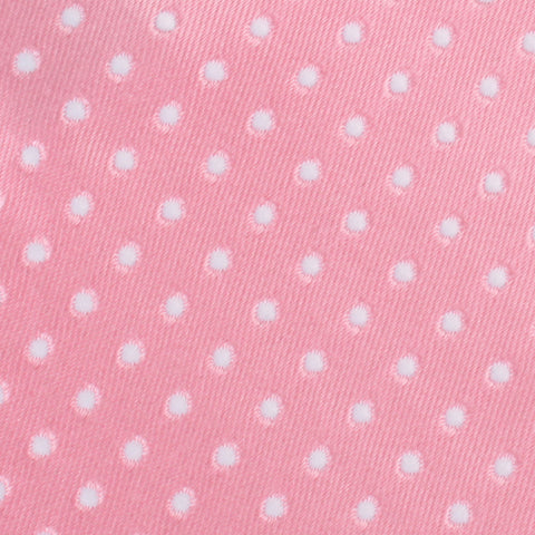 Rose Pink Mini Polka Dots Kids Bow Tie