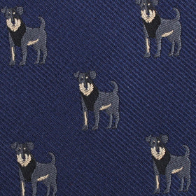 Rottweiler Dog Kids Diamond Bow Tie