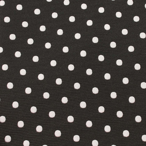 Royal Black Polka Dots Bow Tie