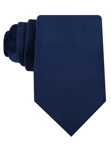 Royal Blue Velvet Necktie