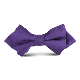 Royal Purple Kids Diamond Bow Tie