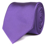 Royal Purple Skinny Tie OTAA roll