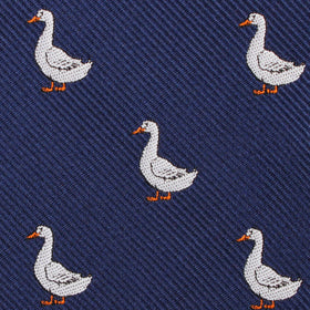 Russian White Goose Kids Bow Tie