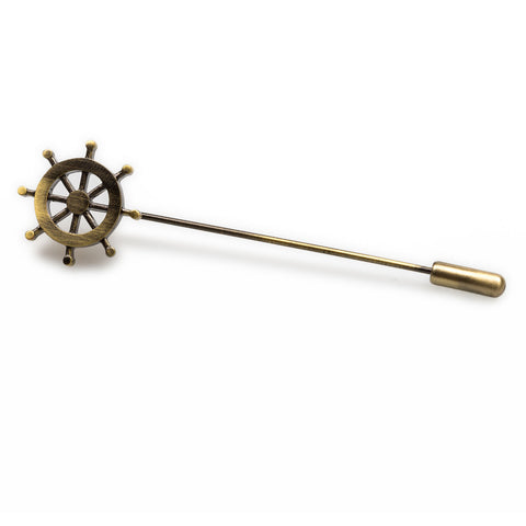 Sailor Wheel Lapel Pin