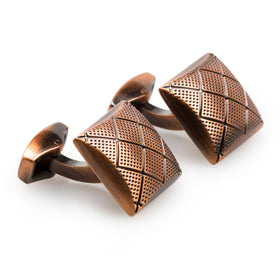 Saint Petersburg Antique Copper Cufflinks