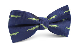 Saltwater Crocodile Bow Tie