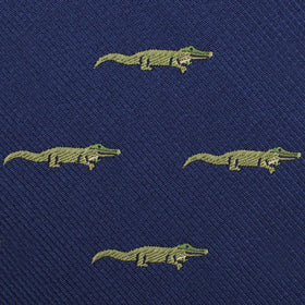 Saltwater Crocodile Pocket Square