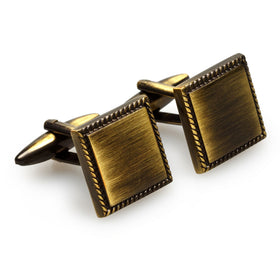 Sandro Botticelli Antique Brass Cufflinks