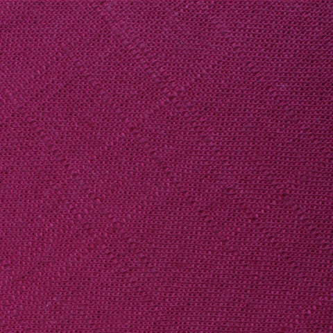 Sangria Slub Linen Pocket Square